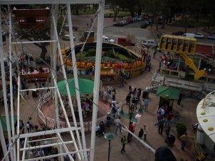el parque rodó desde arriba