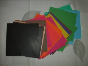 papel glacé