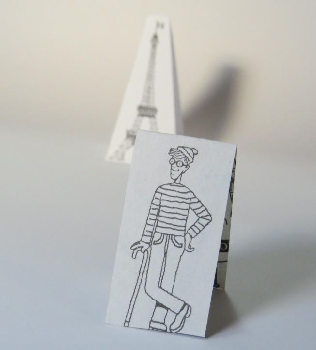 París en papel - Wally
