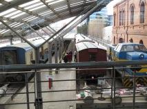 Tren a vapor a Peñarol