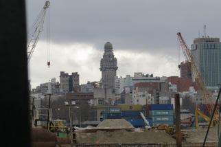 Desde el Puerto de Montevideo