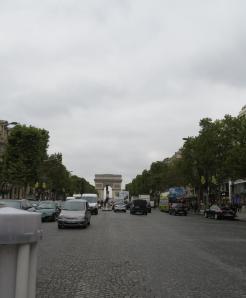 Champs-Élysées - Arco del Triunfo