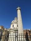 Columna de Trajano y Basilica Ulpia
