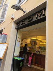 heladería Grom, Roma