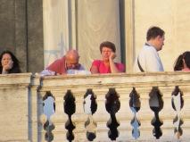 Gente en Roma - Trinitá dei Monti