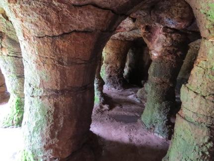 grutas del palacio